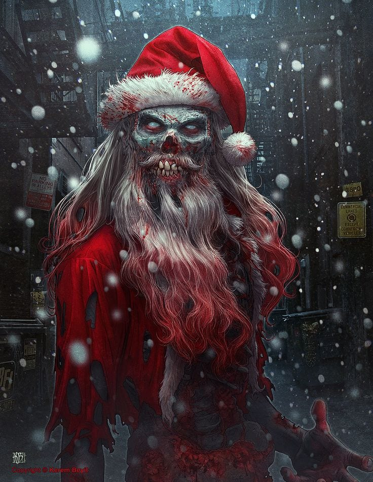 Consejos para sobrevivir a un apocalipsis zombie en Navidad