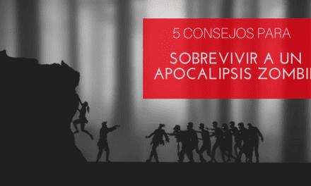 Las cinco cosas que deberías hacer si quieres sobrevivir a un apocalipsis zombie