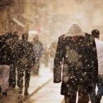 El temporal filomena podría retrasar la llegada de zombies a Madrid.